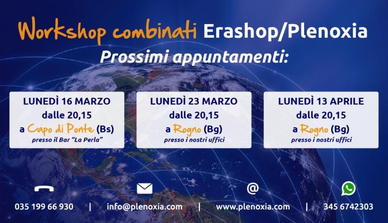 WorkShop combinati - Prossimi appuntamenti - Marzo / Aprile 2015