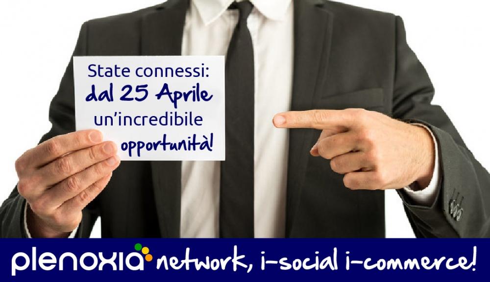State connessi: con Plenoxia una grande opportunità dal 25 Aprile